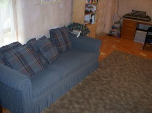 The couch.
